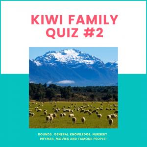 kiwi family quiz 2