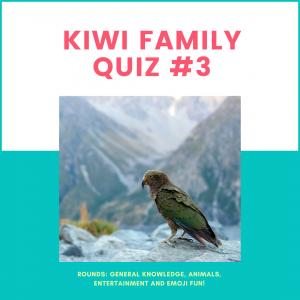 kiwi family quiz 3